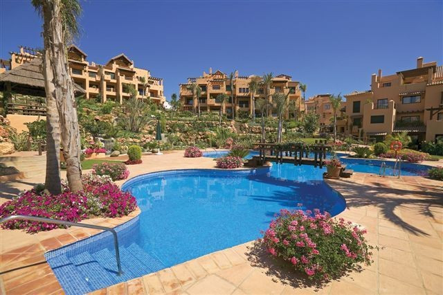 Bright, spacious 3 bed  duplex penthouse apartment in El Campanario, a Mediterranean-style urbanizat,Spain