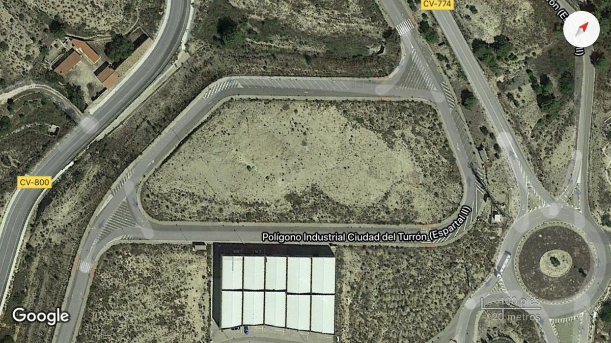 "Land in ""El Espartal"" industrial park, in Jijona (Alicante, Spain).  It has a size of 9715,Spain"