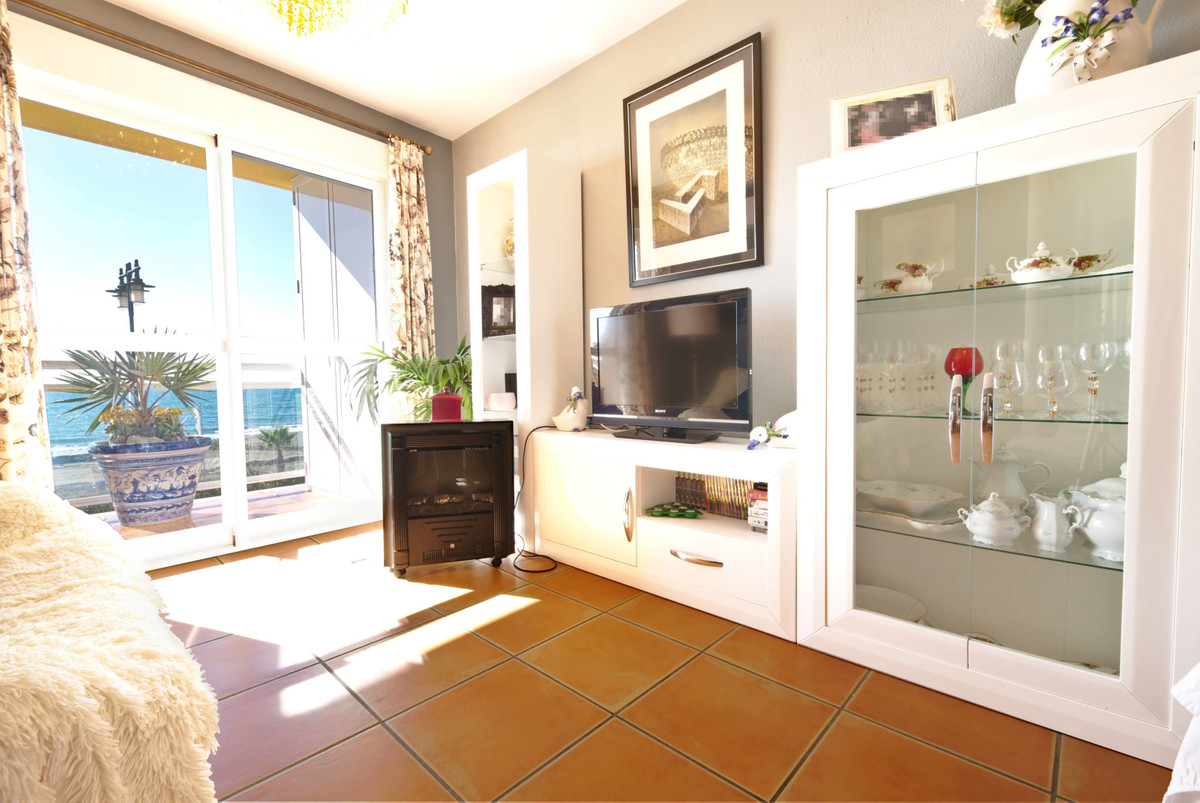 Beachfront apartment. It consists of living room with sea views, kitchen with office, two bedrooms w,Spain