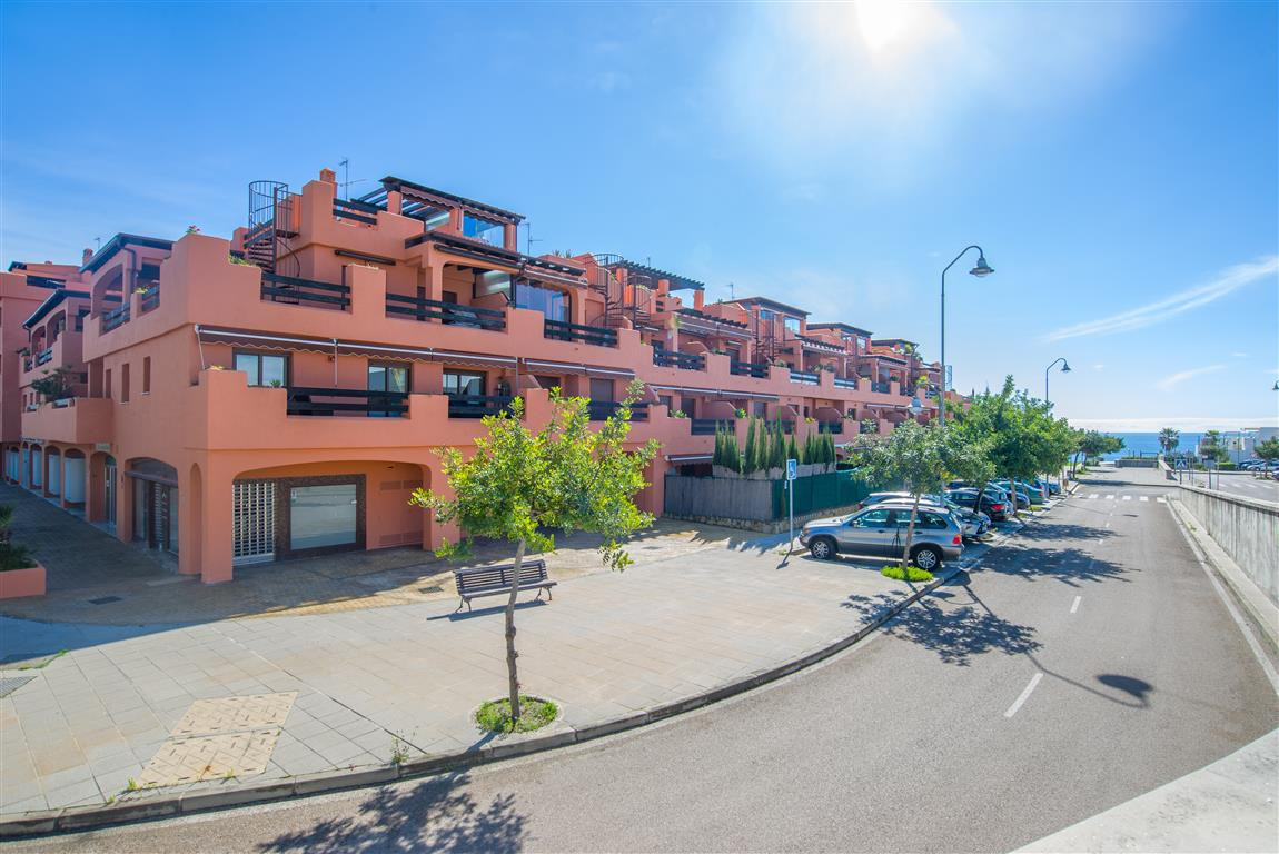 Playa del Angel - steps away from the beach.  The commercial unit occupies a corner position on the ,Spain