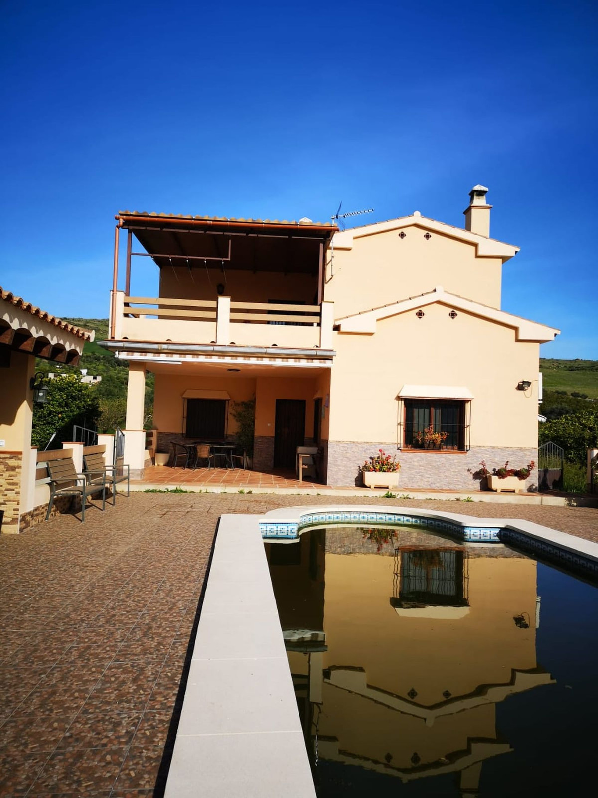 Detached Villa, Alora, Costa del Sol. 4 Bedrooms, 4 Bathrooms, Built 150 m², Terrace 20 m², Garden/P,Spain