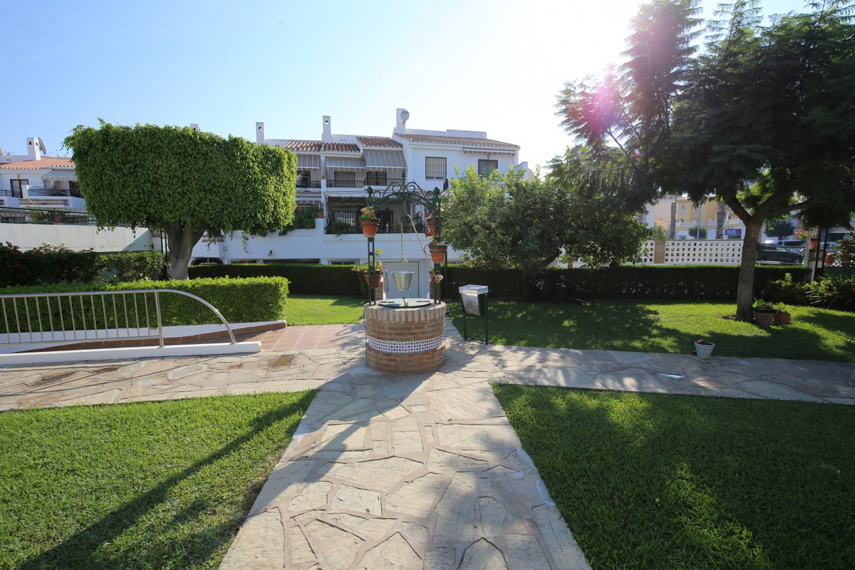 Semidetached house ready for occupancy, located in Caleta de Velez, near the port. Charming house wi,Spain