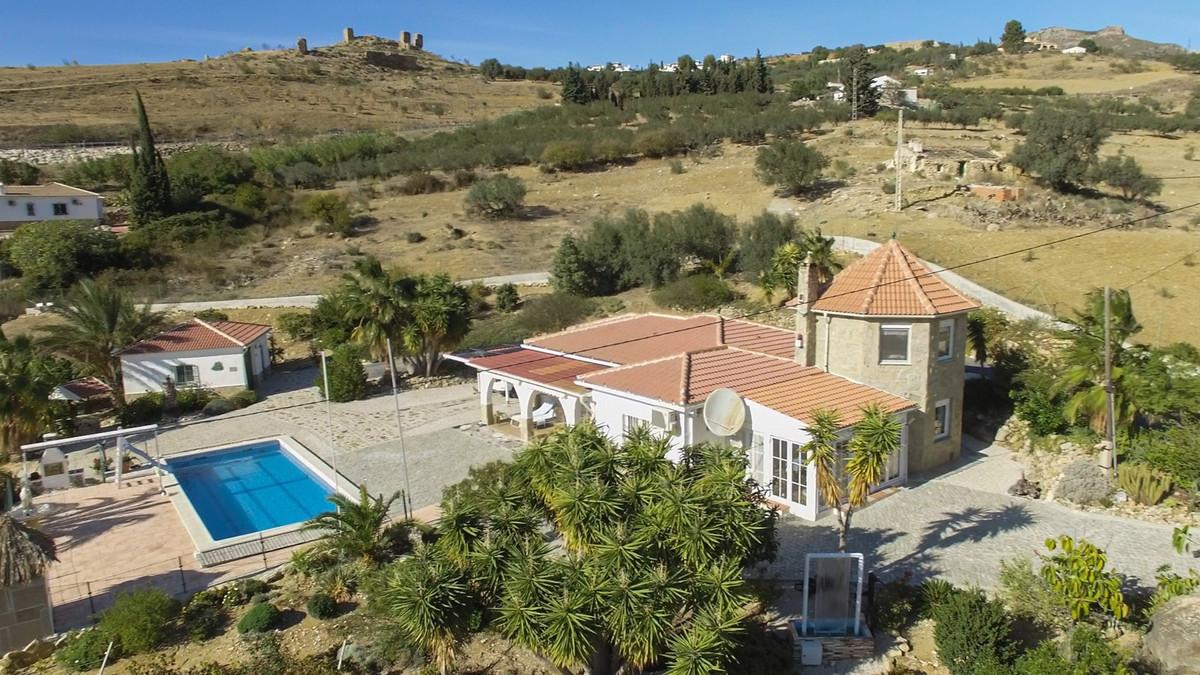 Sale, Villa, Alcaucin, Malaga, Andalusia An impressive home, close to all the amenities that Alcauci,Spain