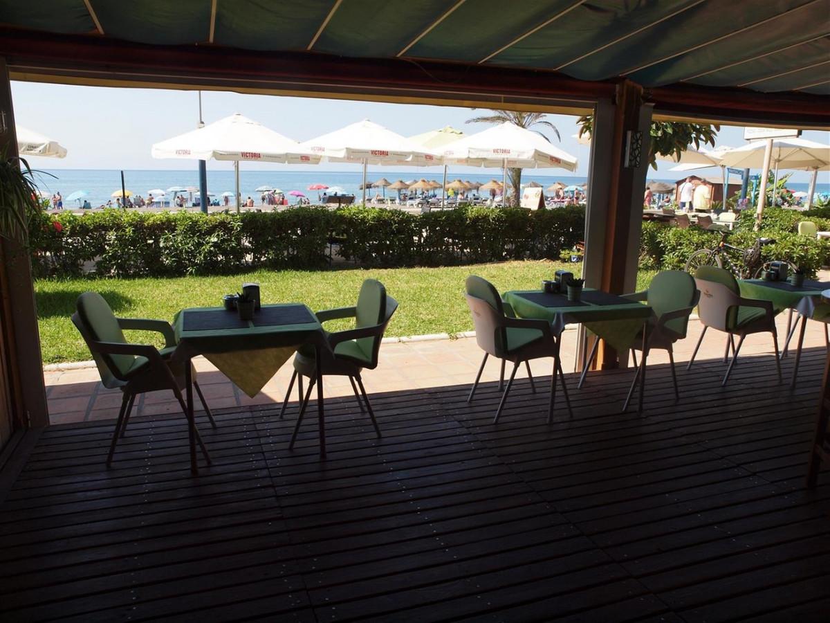 Restaurant transfer at the Beachpromenade  Restaurant - Bar running on paseo maritimo beachfront. Ki,Spain