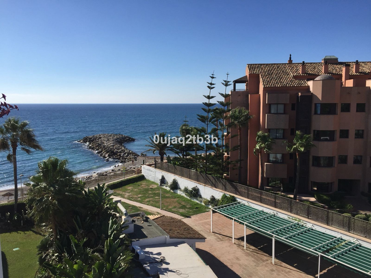 Beatiful apartment in front line beach gated complex.  Bright, large and cosy  apartment with  three,Spain