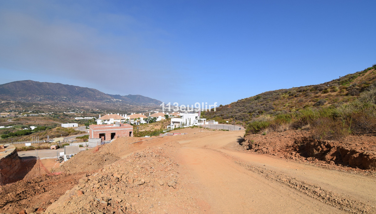 Residential plot offering panoramic mountain, golf and sea views located within La Cala Golf Resort ,Spain