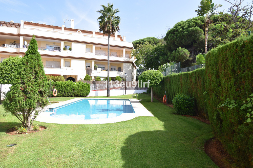 Situated close to the 5 star Vincci Estrella del Mar Hotel in Elviria, this first floor apartment is,Spain