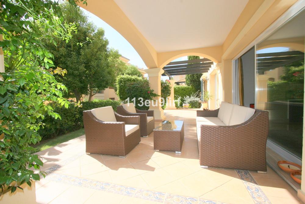Situated in the popular complex of Hacienda Elviria, this luxury garden apartment is very convenient,Spain