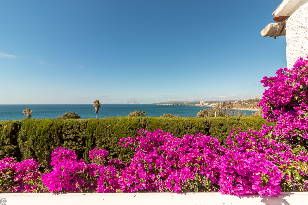 Beautiful villa with unique panoramic sea views in Manilva.  This Andalusian-style villa, located be,Spain