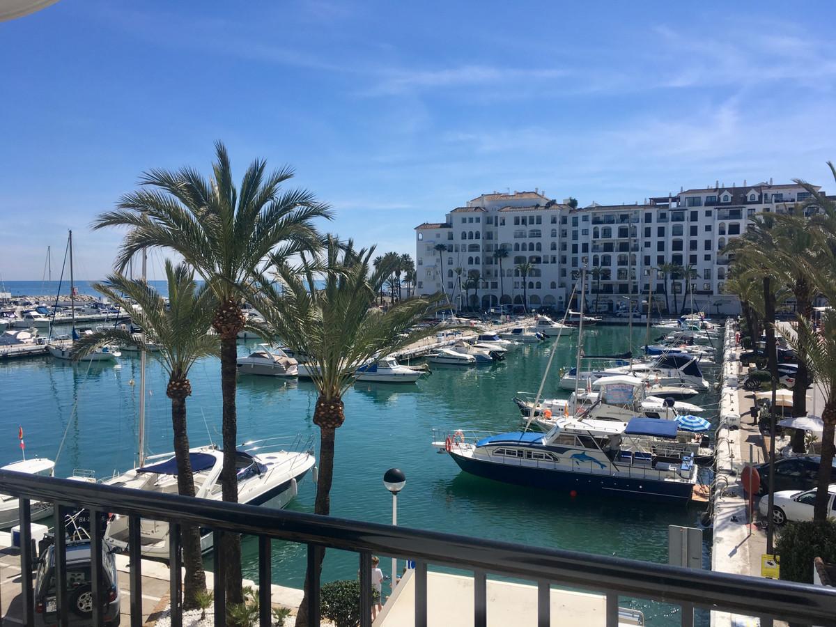 Beautiful studio located in Puerto de la Duquesa, stunning views of the port.  It consists of 47 squ,Spain