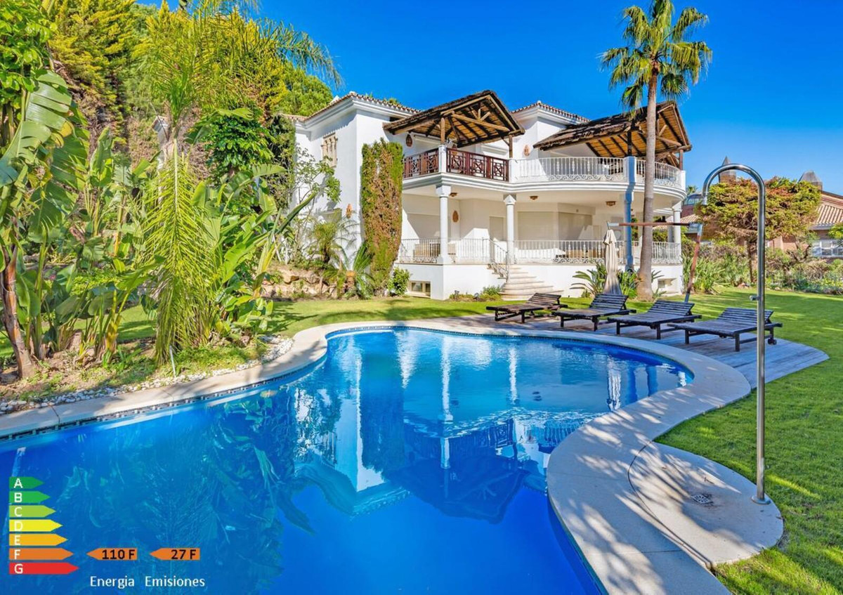 Beautiful villa for sale in Sierra Blanca with 7 bedrooms and 8 bathrooms. On the ground floor has a,Spain