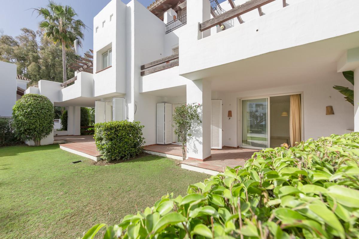 Beautiful 2 bedrooms ground floor apartment for sale in Alcazaba Beach, Estepona.  This front line b,Spain