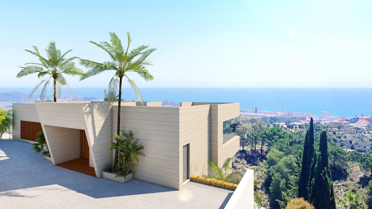 New project just started, fantastic panoramic views, with a waterfall from the upper infinity pool t,Spain