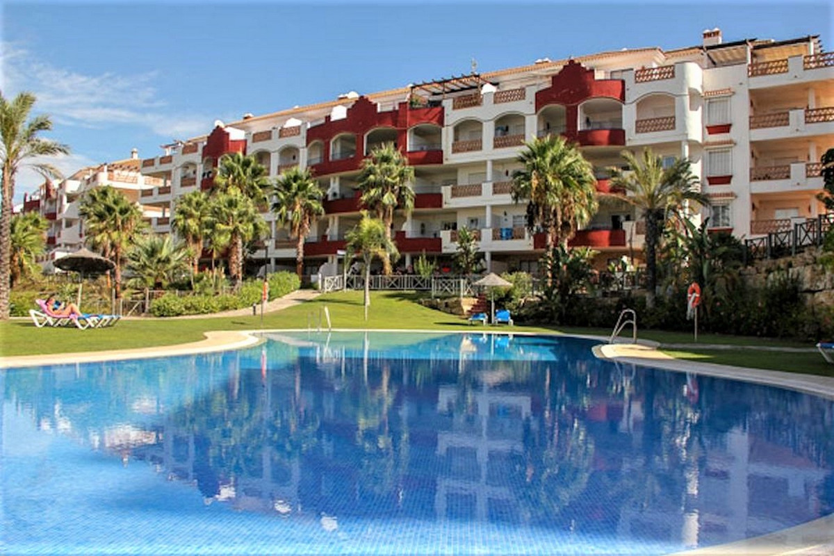 Nicely located apartment in a gated community with 2 pools, one heated indoor pool, 2 tennis courts ,Spain