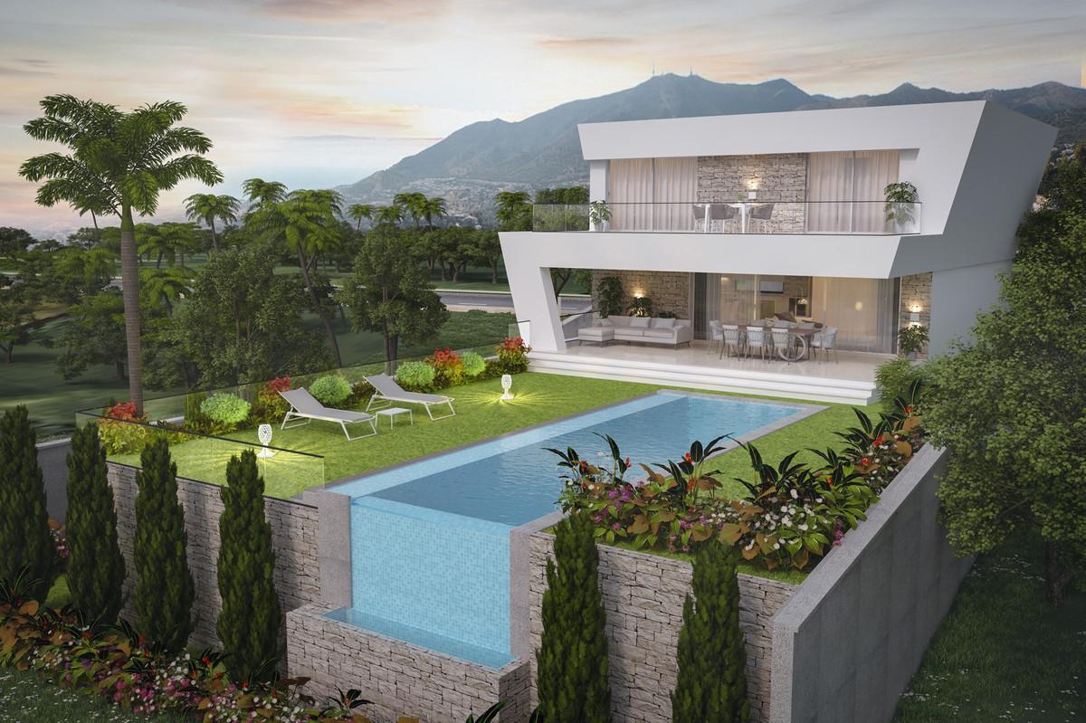 New project of 4 villas with sea views located at LOWER LA CALA, Mijas Costa, walking flat distance ,Spain