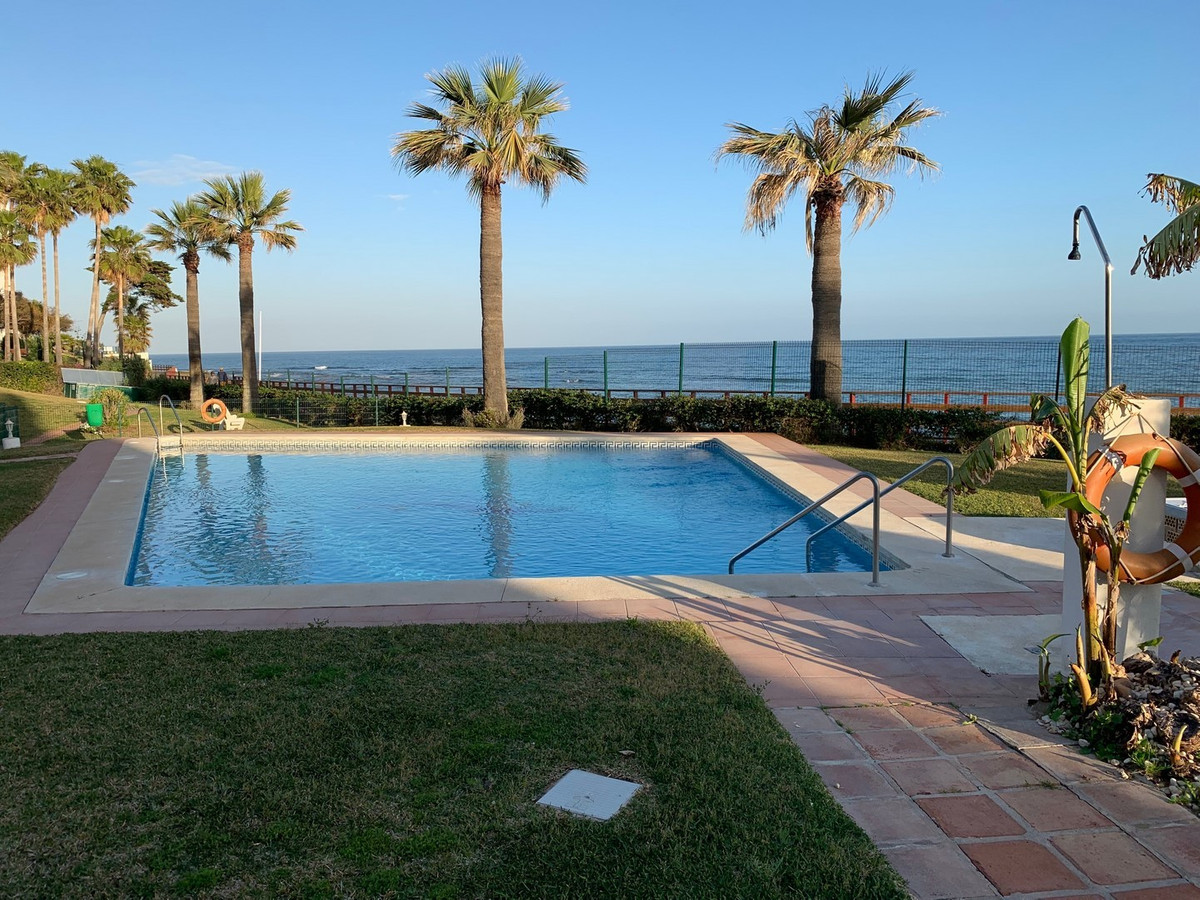 Front line beach apartment with open sea views located , It is on the first floor (no lift), consist,Spain