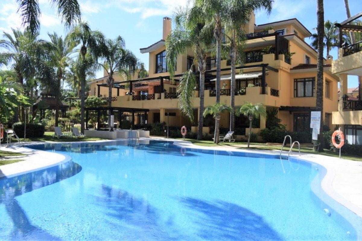 - APARTMENT IN PUERTO BANUS -  2 bedroom ground floor apartment located in the Bahia de Banus comple,Spain
