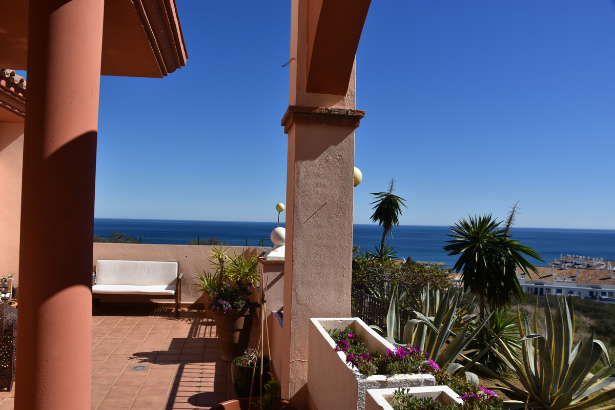 A lovely 3 bedroom ground floor apartment with stunning sea views situated on an well maintained and,Spain