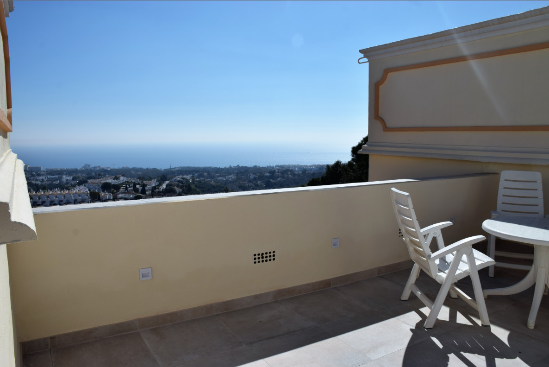 Penthouse with panoramic sea views in Sitio de Calahonda, Mijas-Costa. 2 bedrooms, living/dining roo,Spain