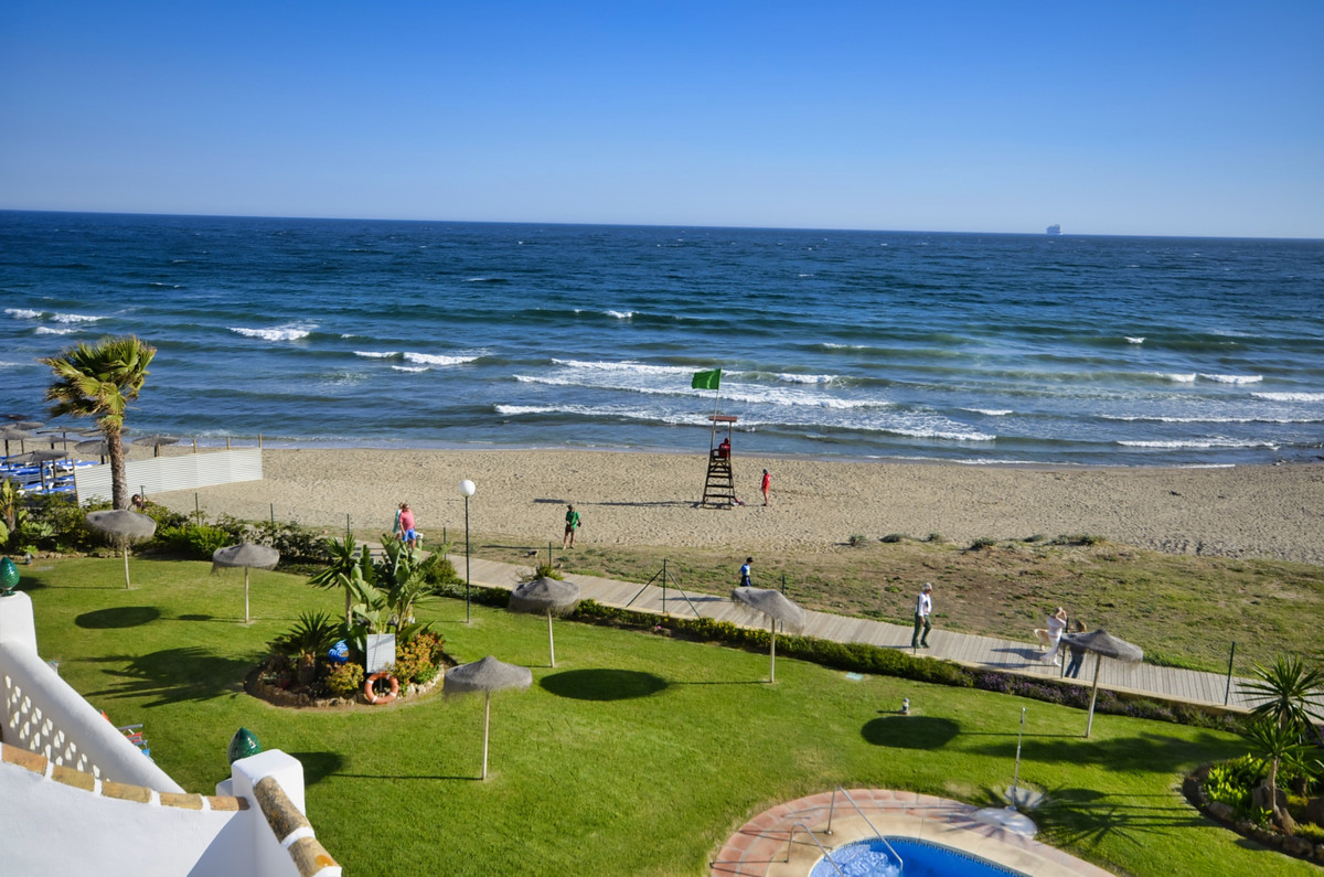 A simply stunning property situated on the beach front with panoramic views of the sea, beach garden,Spain