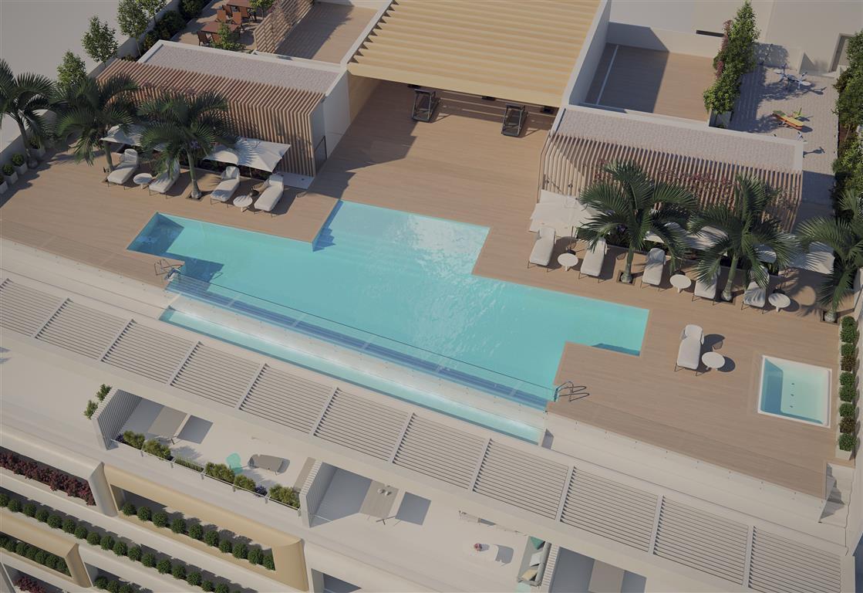 New Apartments Frontline Beach In Estepona