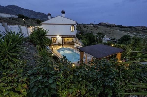 "Villa in private urbanization ""Vista Verde"" (Fuengirola-Mijas road, Lew Hoad Tennis Club a,Spain"