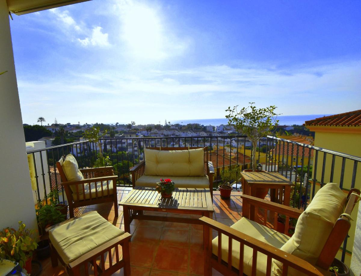 Contemporary with beautiful sea views!  Middle Floor Apartment, El Faro, Costa del Sol. 2 Bedrooms, ,Spain