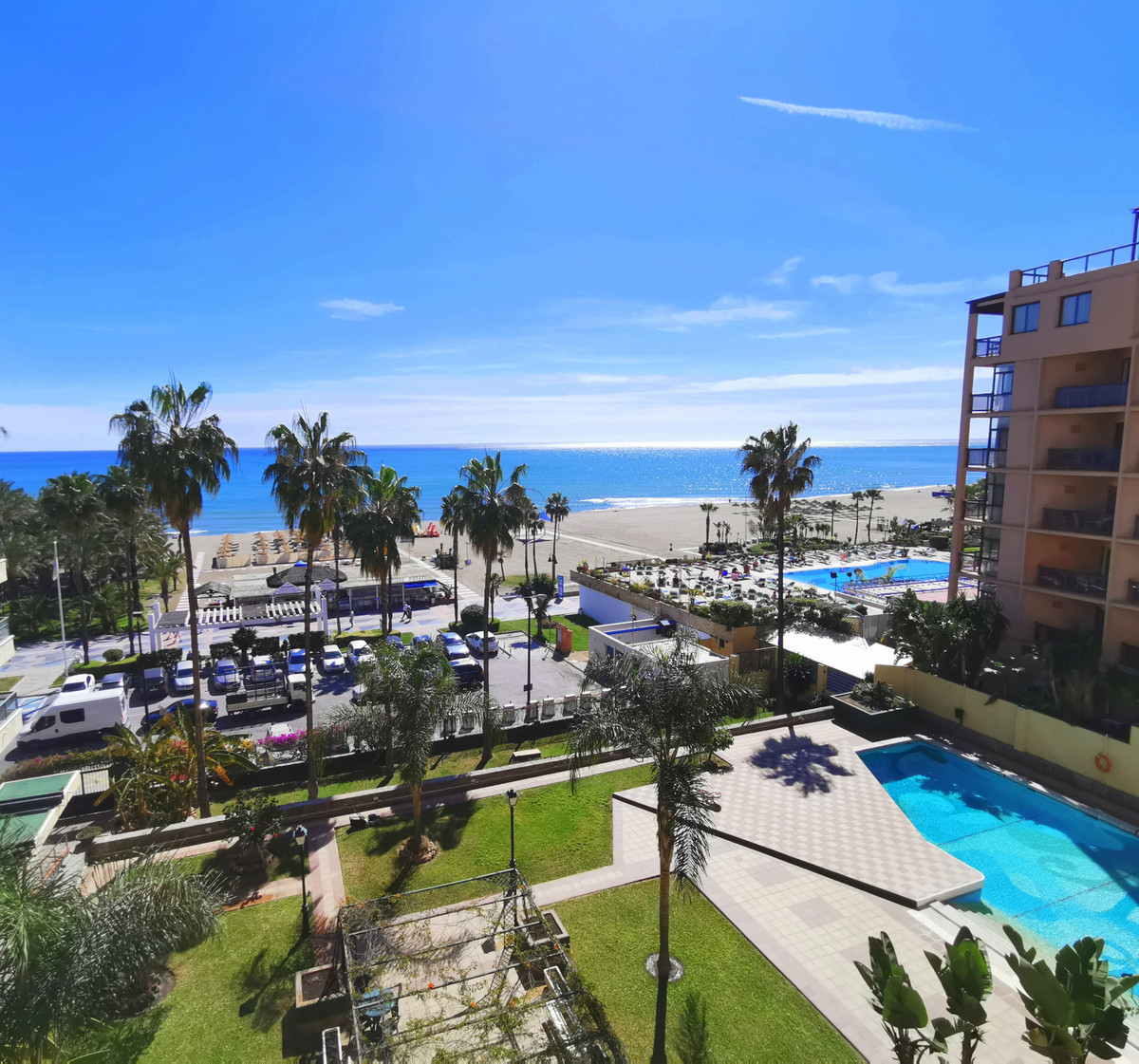 In La Carihuela with stunning sea views!! Magnificent apartment with fantastic views over the Medite,Spain
