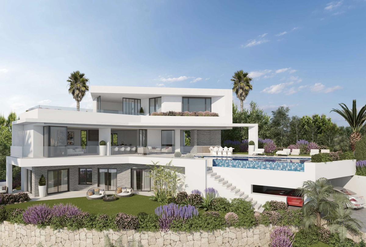 Off-Plan - Luxury villa in Elviria consisting out of income hall, guest toilet, laundry / storage ro,Spain