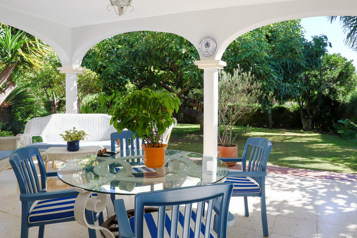 Great opportunity for a renovation project of an excellent located golf front villa.,Spain