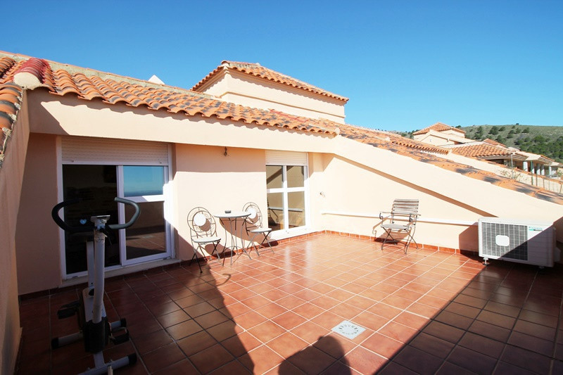 Fabulous three bedroom duplex penthouse for sale in Santangelo Norte, Benalmadena. Two terraces and ,Spain