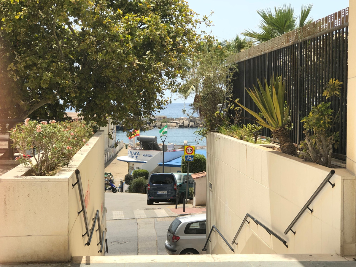 A substantial sized warehouse or storage area located beachside of Marbella in the vicinity of Quiro,Spain