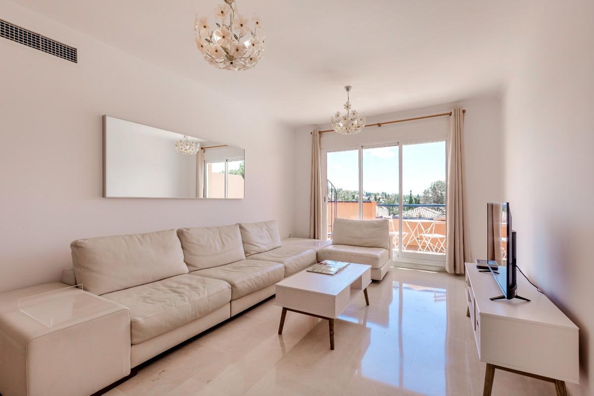 Located in Elviria (Hacienda San Manuel), a spacious bright duplex penthouse apartment with southeas,Spain