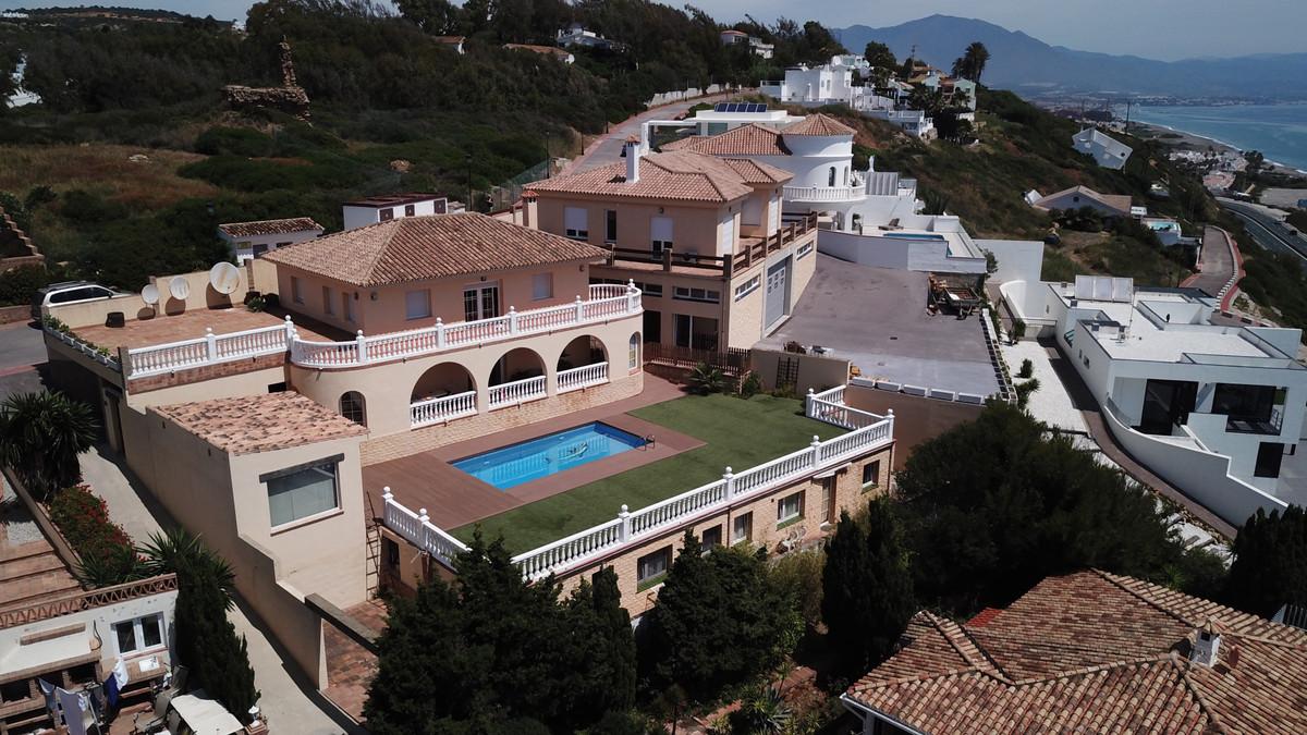 Villa, pool, tea house, garage, panoramic sea views, two separate 1 bedroom apartments - this proper,Spain