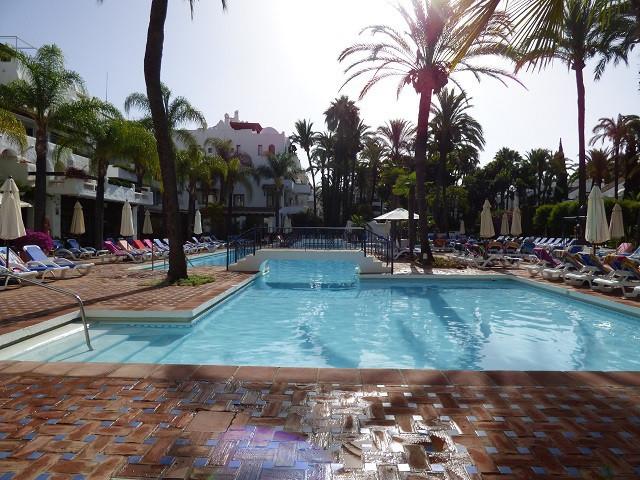 BEACHSIDE Alcazaba, Puerto Banus Beautifully Reformed  - 2 bed 2 bath ground floor apartment, New hi,Spain