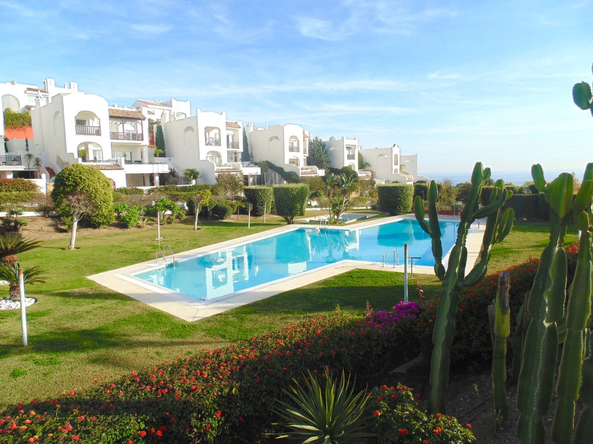 Spacious raised garden apartment with large terrace enjoying spectacular sea views in the TorremuellSpain