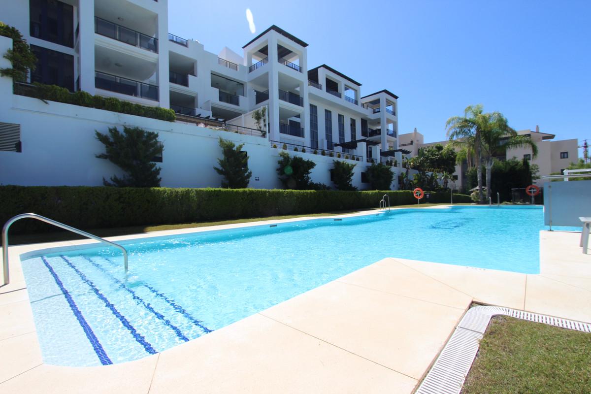 Middle floor apartment in Acosta Los Flamingos Urbanization, located in Estepona Cancelada area. 119,Spain