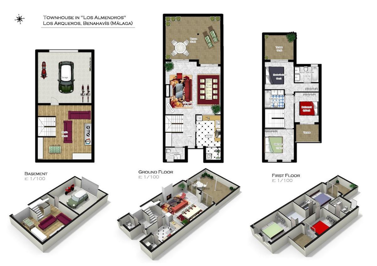 4 Bedroom Townhouse for sale Los Arqueros