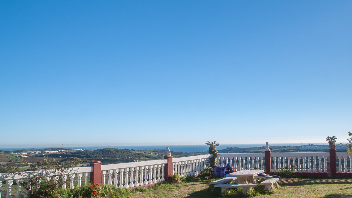 Country property  found in the mountain area of Estepona with breathtaking views of both mountains a,Spain