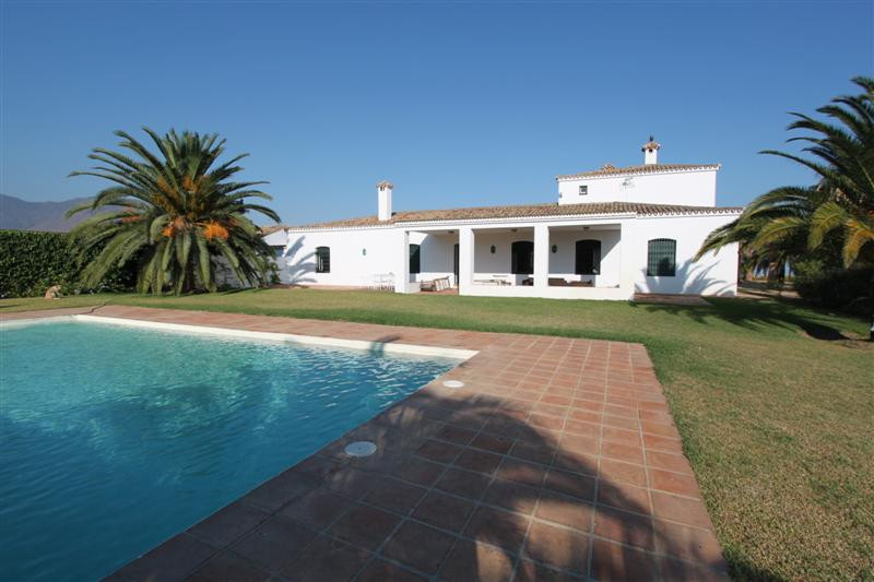 Finca - Cortijo, Casares, Costa del Sol. 7 Bedrooms, 6 Bathrooms, Built 1300 m², Terrace 400 m², Gar,Spain