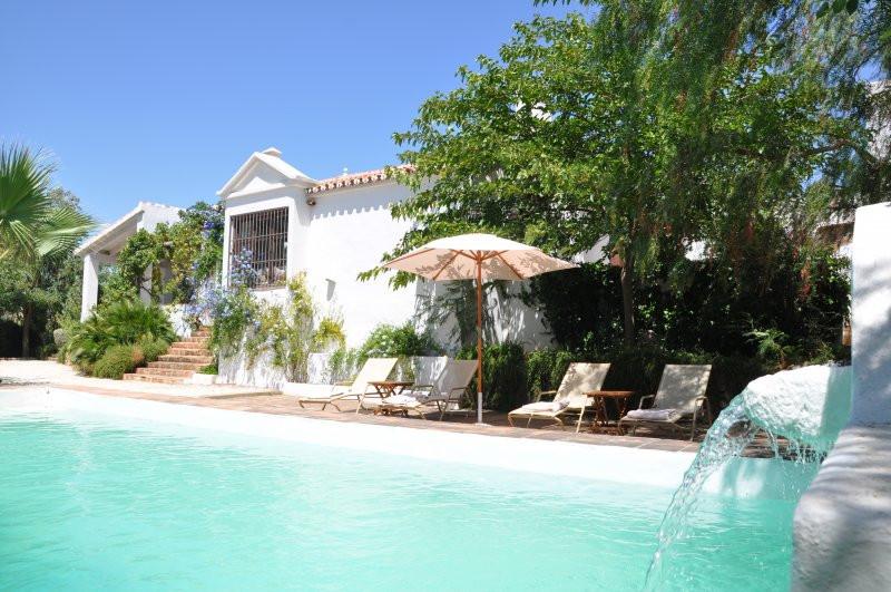 The farmhouse has 2,000,000 m2 in the Natural Park Sierra de las Nieves in Malaga. It is a typical A,Spain