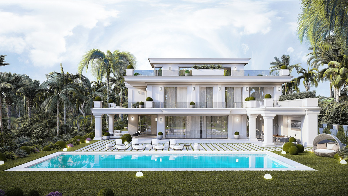 Detached Villa for sale in Marbella R3790504