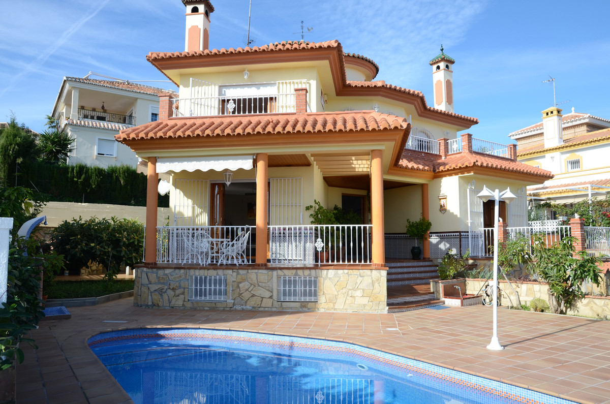 This luxury, detached villa sits high up in the heart of Torre del Mar, Costa Del Sol East, and come,Spain