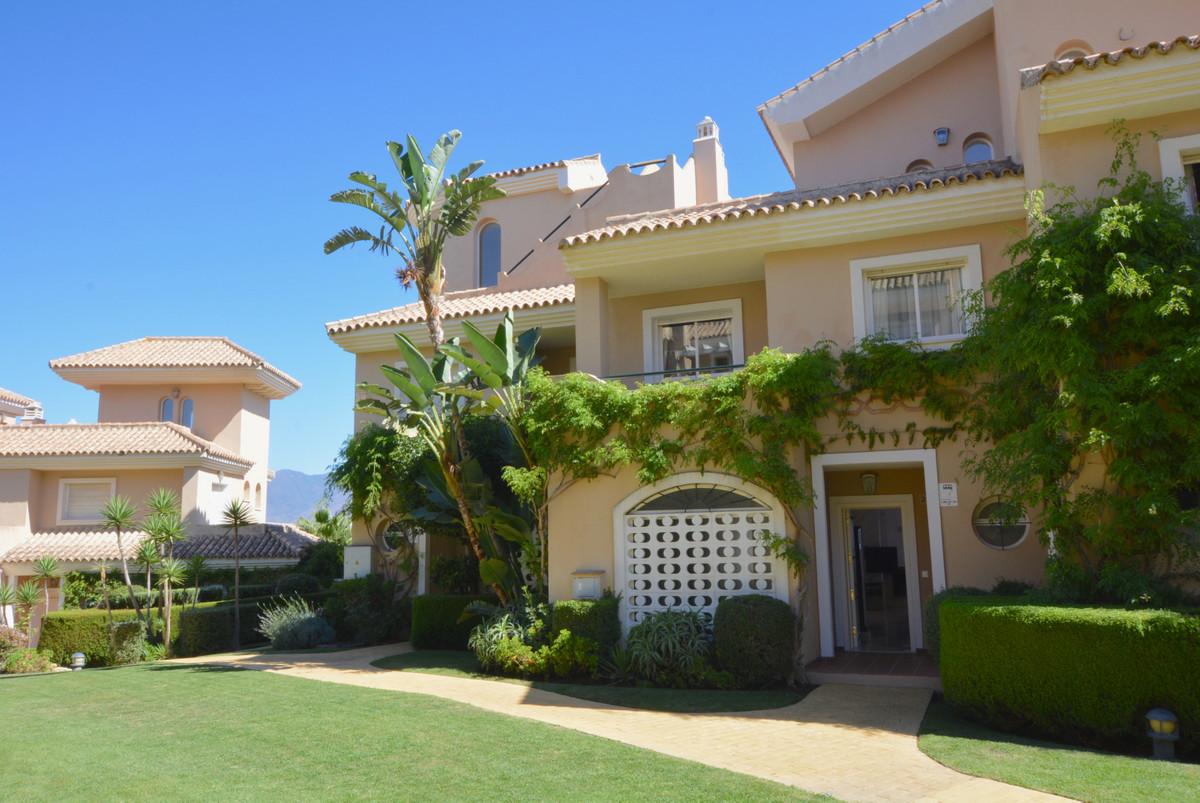 Fabulous 3 bedroom townhouse in the exclusive private urbanization of La Vizcaronda, in Manilva. Tow,Spain