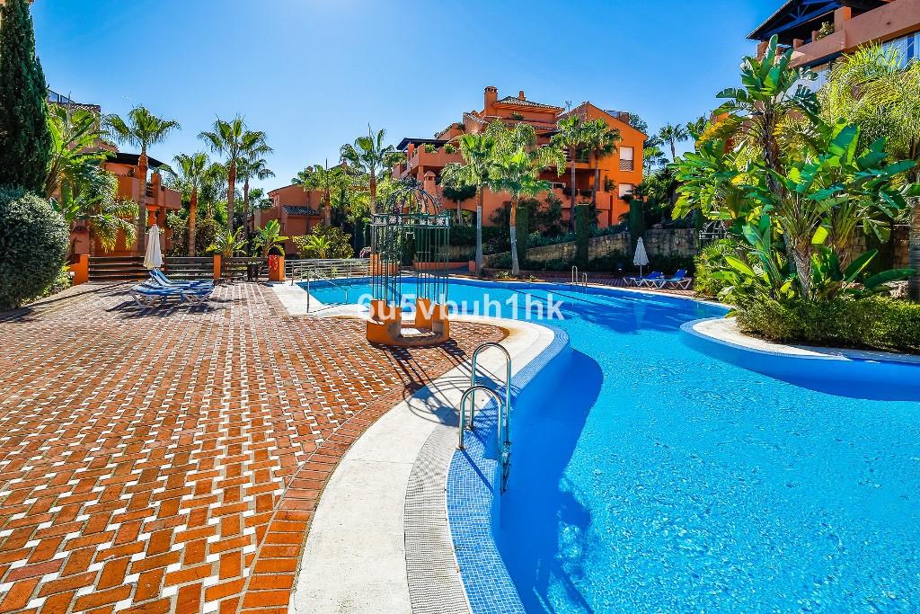 Stunning three bedroom, east facing, ground floor apartment in the prestigious and gated urbanisatio,Spain