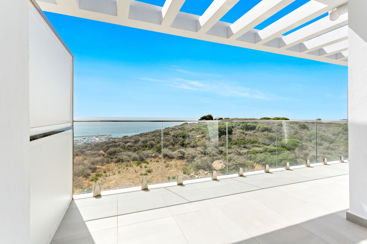 With stunning panoramic sea views, this brand new 2 bedroom apartment in la Duquesa embraces everyth,Spain