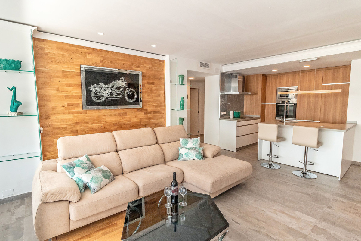 Luxury apartment in the heart of Puerto Banus - Marbella. All new, refurbished with high quality mat,Spain