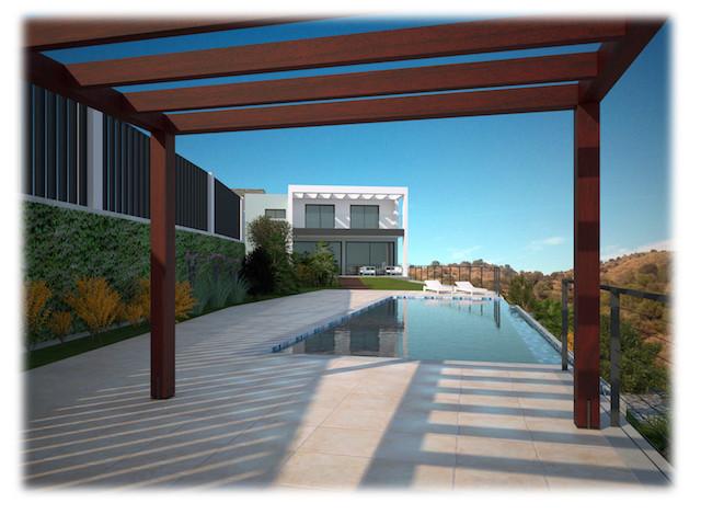 A superbly located off plan contemporary villa in Calahonda, half way between Marbella and Fuengirol,Spain