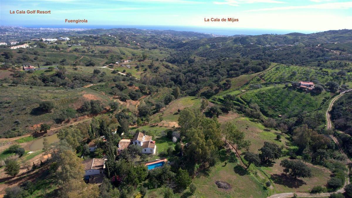 Between La Cala Golf Resort & La Mairena, Unique & typically Andalucian finca 74.000 m² plot,Spain