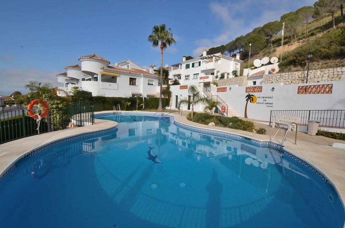 WONDERFUL SEMI-DETACHED VILLA WITH SEA VIEWS! Located between Higueron area (Benalmadena) and Mijas,,Spain